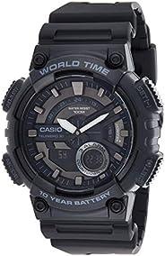 Casio Casual Watch Analog-Digital Display for Men AEQ-110W-1BVDF