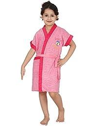 FeelBlue Kids Pink Bathrobe