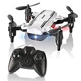 HELIFAR Mini Drone Plegable, H815 RC Drone Night Light...