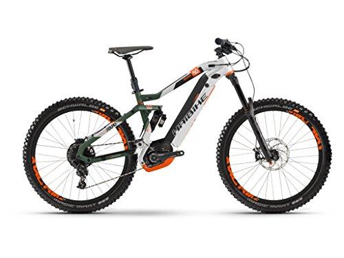 44181412cbc HAIBIKE Xduro Nduro 8.0 500WH Electric Mountain Bike E-bike Olive Matte  Silver