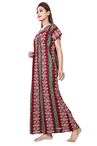 14% OFF on Antara Women s Premium Cotton Nighty Nightwear   Night Dress  Sleepwear 2b628b584