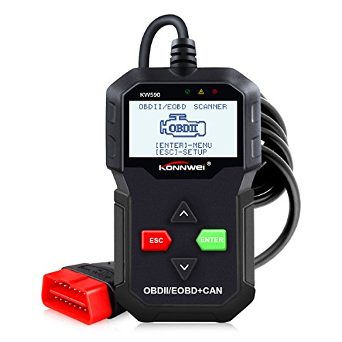 KONNWEI KW590 OBDII Diagnosegerät Scanner Fahrzeug Motor Diagnosis Codeleser nach 2003