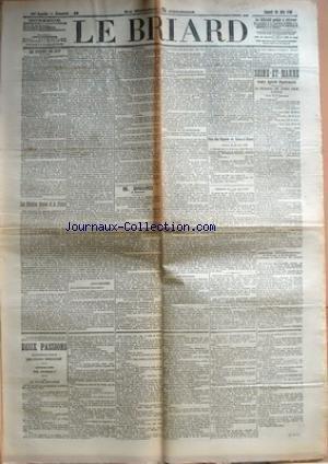 BRIARD (LE) [No 49] du 30/06/1906 - LE BUDGET DE 1...