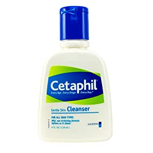 Cetaphil Lotion nettoyante pour le visage - Formule douce non-savonneuse à pH neutre - Tous types de peau - 118 ml