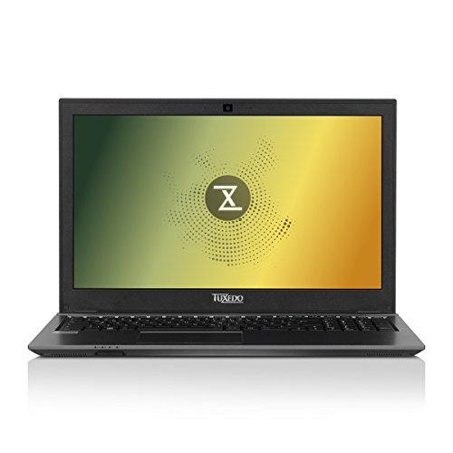 TUXEDO 10900089POW BS1507 Power 100.63 cm (39.62 Zoll) Laptop (Intel Core i7-7700HQ, 500GB Festplatte, 16GB RAM, Intel HD Graphics 630, Linux) Schwarz