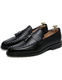 2018 Chaussures habillées Tout-Aller à la Mode pour Hommes dans Le Confort  Classique avec Pompons (Cuir Verni en Option) Richelieus… fe46f21b85e