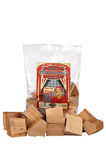 ötze, Wood Smoking Chunks, Kirsche - Cherry, Holz, 1,5 kg ()