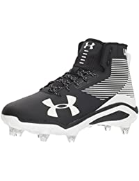 Under Armour Hombres Hammer High Tops Cordon Zapatos para Béisbol, ...