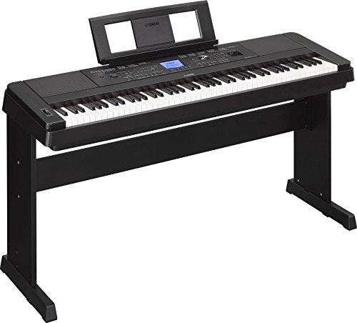 Yamaha-88Touches Piano numérique 660B DGX
