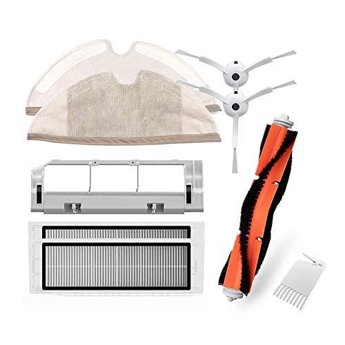 GLOBEAGLE Filtros HEPA + Pinceles + Paño mopa aspiradora