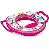 La reduccion del asiento de inodoro con delicado relleno motivo Minnie rosa
