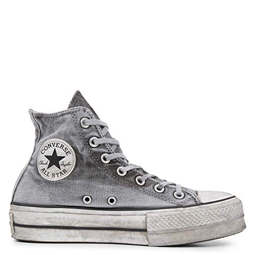 af030b546cac4 Converse Chaussures Femme Baskets Chuck Taylor All Star Smoked Gris SS 2019