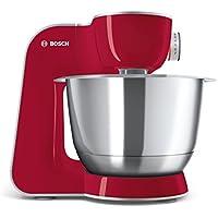 Bosch MUM58720 - Robot de cocina (1000 W, acero inoxidable), color rojo
