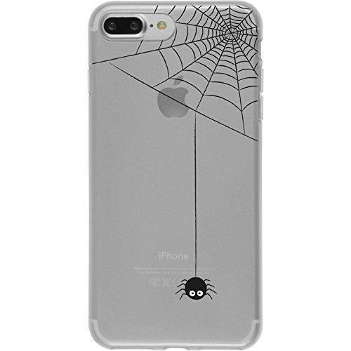 PhoneNatic Apple iPhone 7 Plus / 8 Plus Custodia in Silicone autunno M5 Case iPhone 7 Plus / 8 Plus + pellicola protettiva Motiv:03