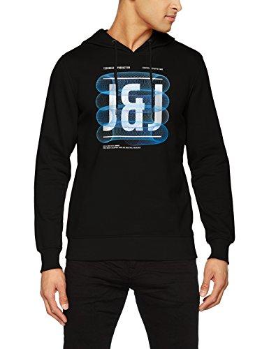 JACK & JONES Herren Sweatshirt Jcopaul Sweat Mix Pack, Schwarz (Black Fit:Reg), XX-Large