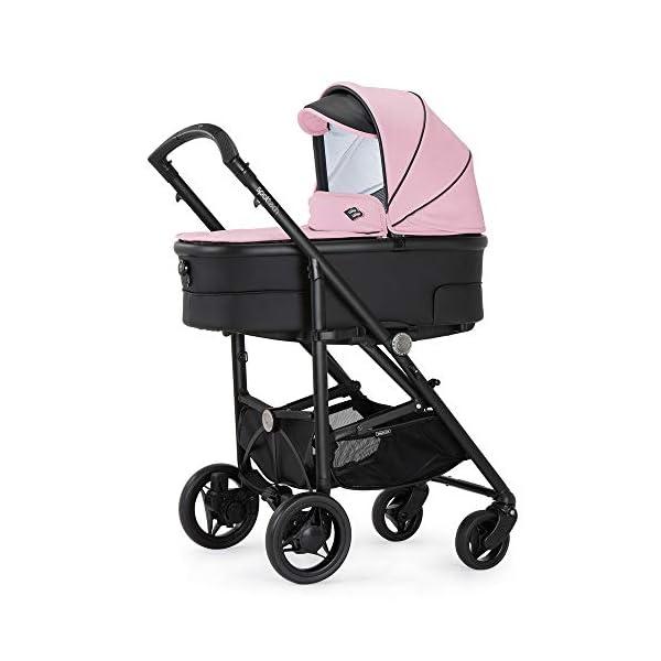 Bebecar Spot Tech Pram Pushchair in Pink Shadow 649 Bebecar  1