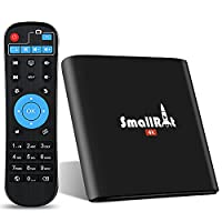 TV Box, SMALLRT X1 Android 6.0 Smart TV Box Supports True Mini 4K Media Player For Home Entertainment