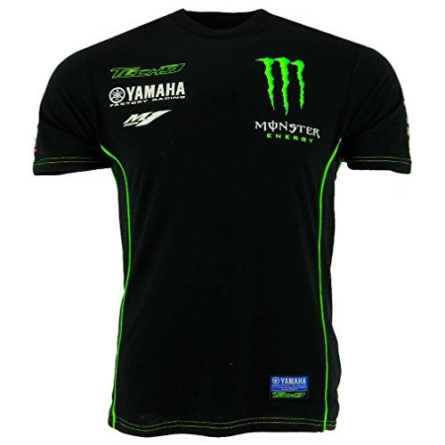 Tech 3 Yamaha Monster Moto GP Racing Team Custom T-shirt Offiziell 2017 (Racing-team-t-shirt)