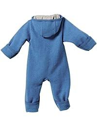 Disana Baby Walk Overall aus Bio Schurwolle kbT, blau Gr. 62/68