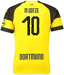 Maillot Domicile Borussia Dortmund Mario Götze