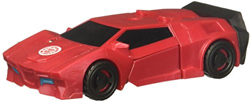 Transformers Robots in Disguise Combiner Force 1 Step Changer Sideswipe, Red