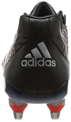adidas Adipower Kakari Sg, Scarpe da Rugby Uomo, UK Nero (Negro (Negro (Negbas / Plamet / Rojimp)))