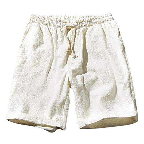 Seide-leinen-hose (Zolimx- Bekleidung Trunks unterwäsche Herren Boxershorts Shorts Ausbuchtung Pouch modal Unterhose männer sportunterwäsche verlängern EIS Seide mesh atmungsaktiv Boxershorts lauf Hose)