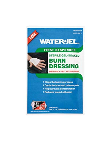 Water Jel Burn Dressing (Water Jel Burn Dressing, Sterile 4 X 4 from Rescue Essentials by Water Jel)