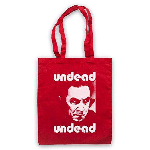 Inspiriert durch Bauhaus Bela Lugosi's Dead Inoffiziell Umhangetaschen, Rot