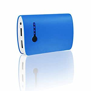 AAB Cooling Nonstop Power Bank AttoXL 6600mAh - Blau - Gute Qualität, Hohe Kapazität powerbank mit 2 USB-Anschlüss - Tragbares Externer Akku Ladegerät - Portable USB Charger
