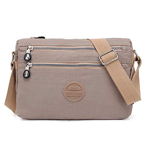 LIRUI Sommer Stil Frauen Umhängetasche Messenger Bags Weibliche Handtaschen Berühmte Marken Nylon Crossbody Taschen,C -