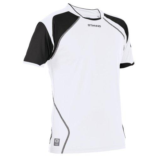 Stanno Bari Trikot K.A. - white-black, Größe Stanno:XL
