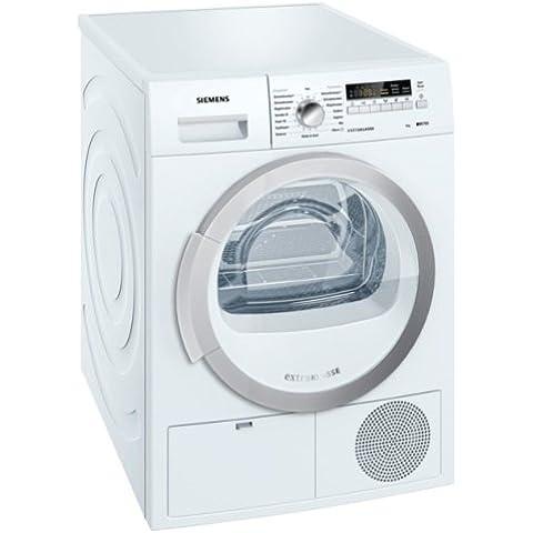 Siemens WT46B280 Independiente Carga frontal 8kg B Color blanco - Secadora (Independiente, Carga frontal, Condensación, B, Color blanco,