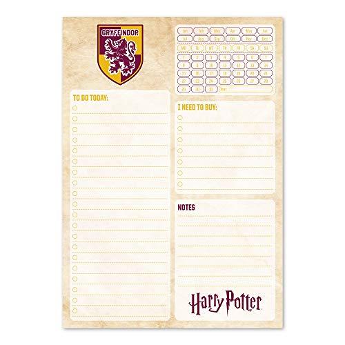 Erik BNE0009 Bloc Notes Daily Planner mit Kalender Harry Potter (Kalender-harry Potter Täglich)