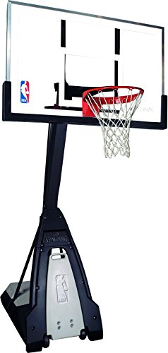Spalding NBA Slam Jam Board - Tablero de pared de baloncesto, color incoloro, 45.5 x 26.7 cm