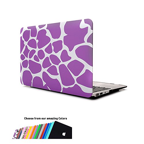 Custodia Macbook Air 13,iNeseon * Ultra Sottile Leggero Peso Plastica Copertina Caso Cover con Rivestimento Gommato per Apple MacBook Air 13.3