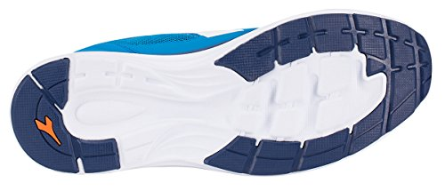 Diadora chaussure Sneaker Running Jogging Homme Heron Sky-blue/White Chaussures Bleu roi