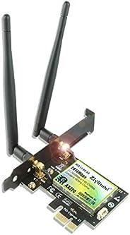 بطاقة واي فاي ZYT 3000 ميغابايت بالثانية بتقنية البلوتوث 5.1 لأجهزة الكمبيوتر المكتبي | Intel WiFi 6 AX200 | 5