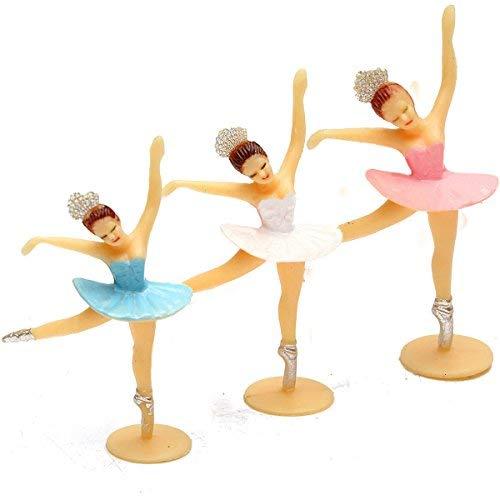Kostüm Einladungen Minnie - DIVISTAR Dekoration - Dekorationen - Rosa Ballerina-Dekoration für Babys, als Dekoration für Babypartys, für kleine Mädchen, 1 Stück