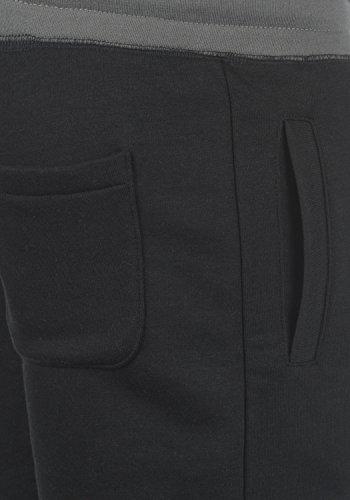 SOLID Benni Herren Sweat-Shorts kurze Hose Sport-Shorts aus hochwertiger Baumwollmischung Black (9000)