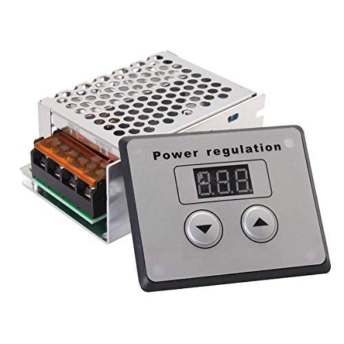 Morning May 4000W 220V AC SCR regulador de voltaje regulador eléctrico de...