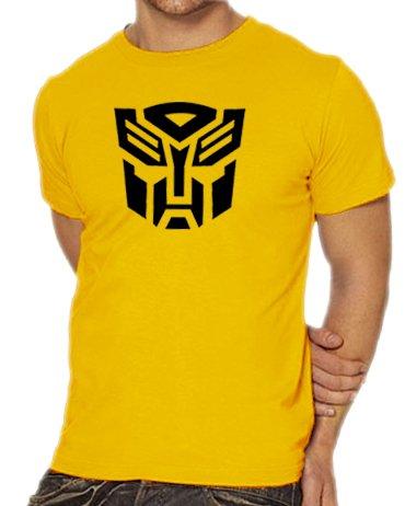 Touchlines - Transformers, Maglietta, Oro, XL