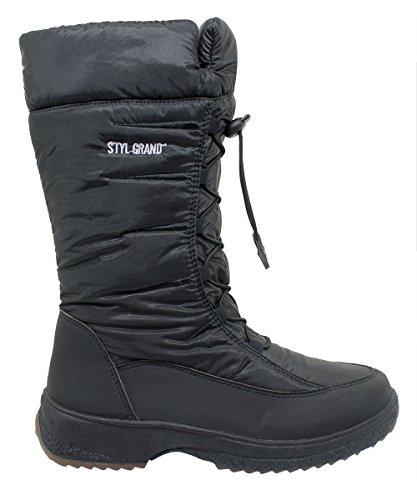 Styl Grand - 3102 - Bottes de neige Femme