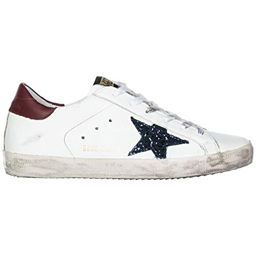 hot sale online 893ec af38a Golden Goose Scarpe Sneakers Donna in Pelle Nuove Superstar Bianco EU 35  G33WS590.L56