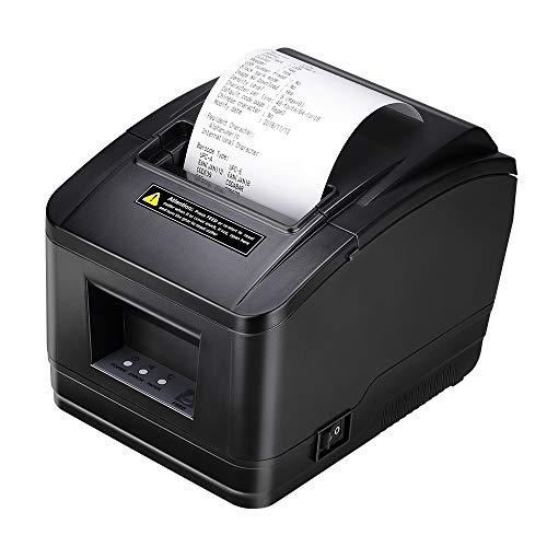 80mm USB Stampante Termica Diretta AUTO-CUT MUNBYN Stampante Portatile di Ricevimento Termico 200mm / sec/ESC/POS
