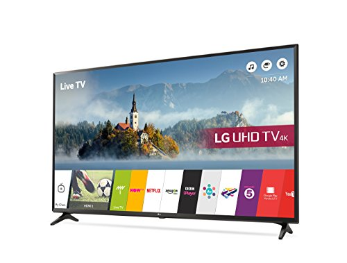 LG 43UJ630V 43 inch 4K Ultra HD HDR Smart LED TV (2017 Model) (Certified Refurbished)