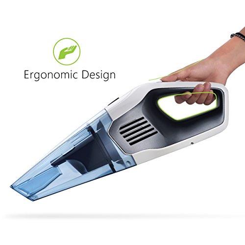 holife aspirateur mains sans fil nettoyeur portable rechargeable poussi re 600ml liquide. Black Bedroom Furniture Sets. Home Design Ideas