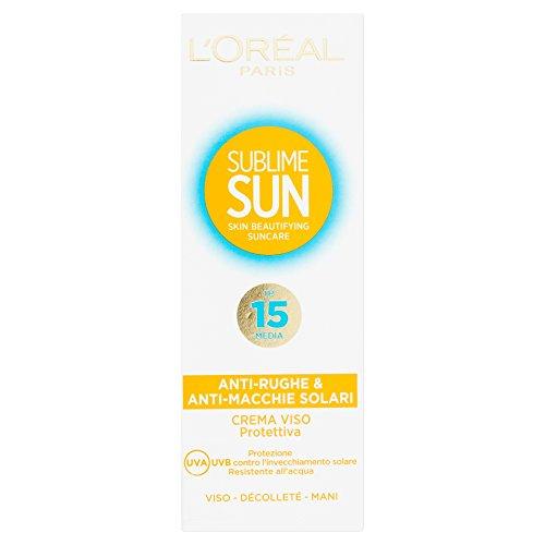 loreal-paris-sublime-sun-crema-viso-protettiva-anti-rughe-anti-macchie-solari-ip15
