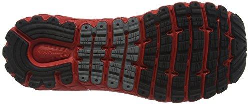 Razze Da Uomo Glicerina 14 Scarpe Da Corsa Nere (nero / Rosso Ad Alto Rischio / Antracite)