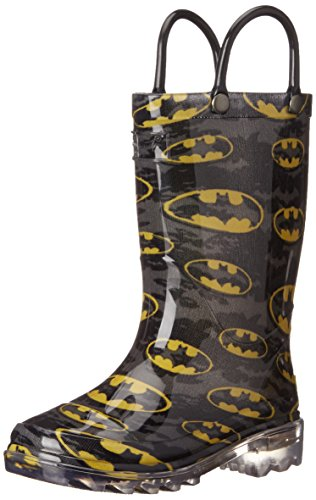 Batman Child Light Up Rainboots Size 11